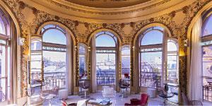 Le salon Coiffirst Printemps Coupole à Paris